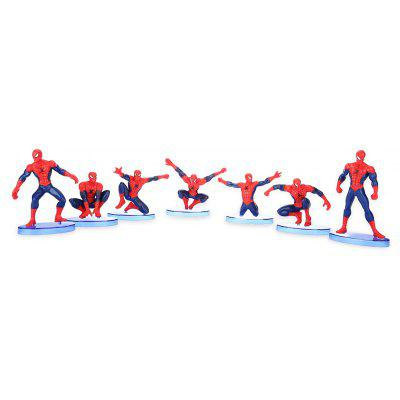 Collectible Animation Figurine Model - 7pcs / set