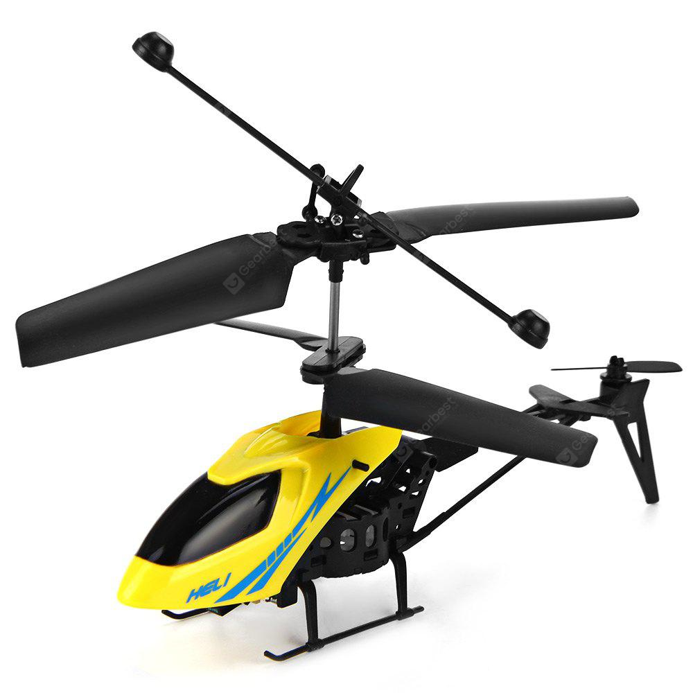 RANDOM COLOR Mini RC 901 Helicopter Shatter Resistant 2.5CH Flight Toys with Gyro System