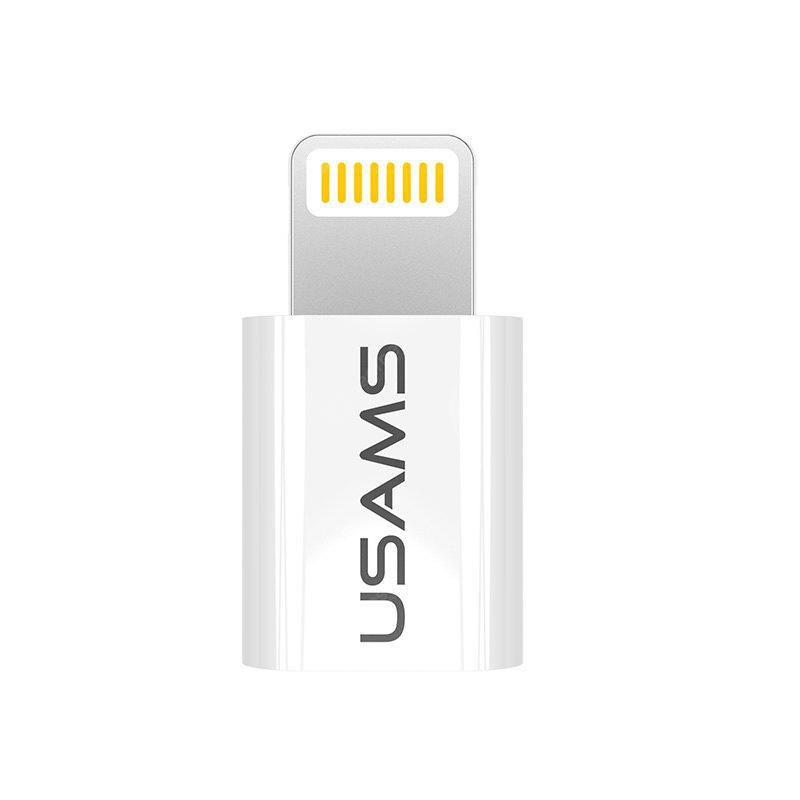 USAMS Micro USB to 8 Pin Data Sync Charger