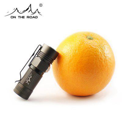 ON THE ROAD M3 920Lm Cree L2 U2 1A 16340 Pocket LED Flashlight