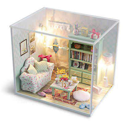 Creative DIY Wooden Miniature Dollhouse