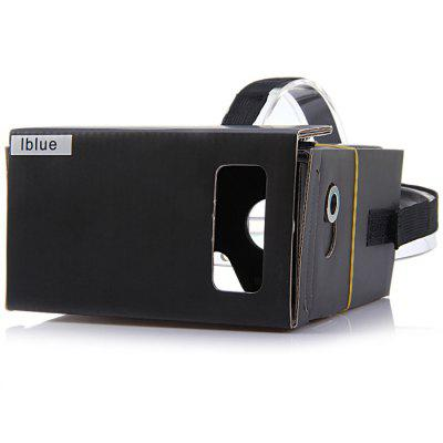 iBlue DIY Cardboard VR Headset Virtual Reality 3D Glasses 134941801
