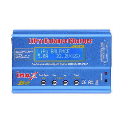 Genuine IMax B6 Style LCD Digital RC Lipo NiMh 2S  -  6S Battery Balance Charger + CordCharger<br>Genuine IMax B6 Style LCD Digital RC Lipo NiMh 2S  -  6S Battery Balance Charger + Cord<br><br>Package Contents: 1 x Imax B6 LiPo Battery Balance Charger, 3 x Set of Wire, 1 x English Manual<br>Package size (L x W x H): 17.00 x 15.00 x 6.00 cm / 6.69 x 5.91 x 2.36 inches<br>Package weight: 0.4500 kg