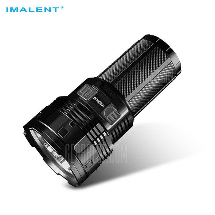 IMALENT DT70 Super Bright Rechargeable Flashlight - BLACK