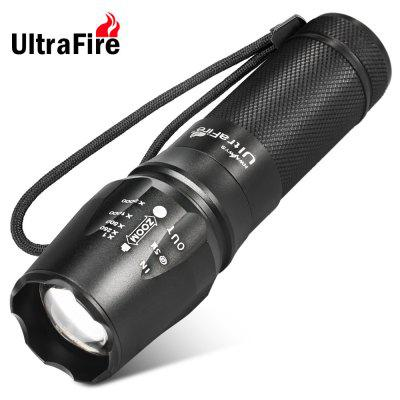 878 Cree XM - L T6 5 - Mode 1000Lm 18650 LED Flashlight