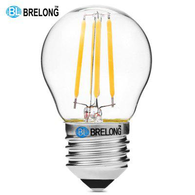 BRELONG G45 E27 4W COB 360Lm Dimming LED Edison Bulb