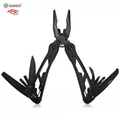 Ganzo G104 Folding Pliers with 10pcs Screwdriver Bits