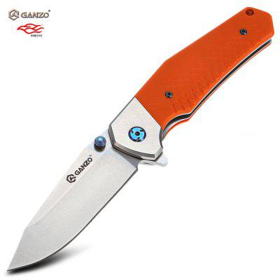 Ganzo G7492 - OR Frame Locking Pocket Knife with G10 Handle