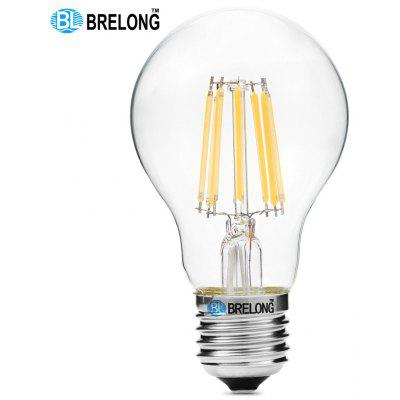 BRELONG 8W COB E27 720Lm A60 Retro Dimmable LED Filament Light