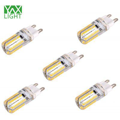 5 x YWXLIGHT G9 8W 960Lm SMD 3014 80 LED Corn Bulb Dimming Light