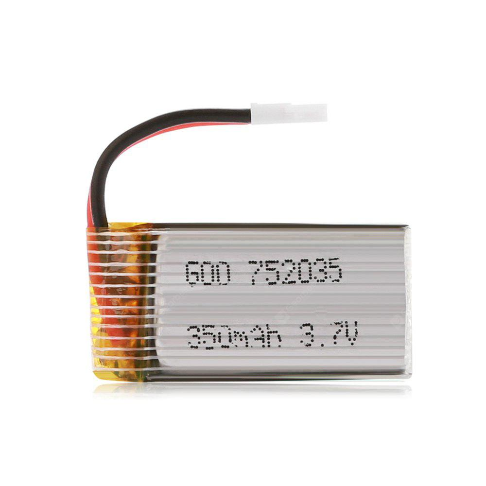 Spare 3.7V 350mAh Battery Fitting for Yifei XS - 1 Husban H107 JXD 385 DFD F180 / i Drone i4W / i4S RC Quadcopter