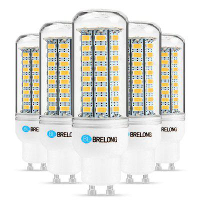 5 x BRELONG GU10 12W 1200Lm SMD 5730 LED Corn Light Lamp