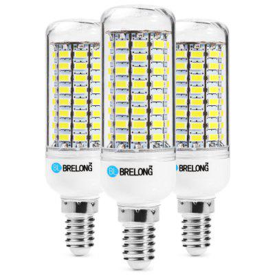 3PCS BRELONG 89 x SMD5730 8 - 9W 1800LM E14 LED Corn Bulb