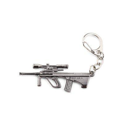 Keyring Weapon Model Pendant Decoration Rifle Metal Key Chain 176877702