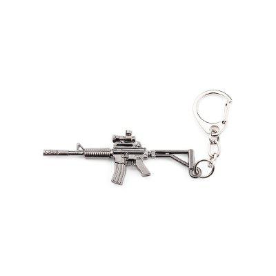 Keyring Weapon Model Pendant Decoration Rifle Metal Key Chain 176877706