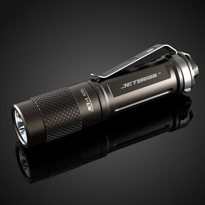 Jetbeam JET - I MK Cree FlashlightLED Flashlights<br>Jetbeam JET - I MK Cree Flashlight<br><br>Available Light Color: Cool White<br>Battery Included or Not: No<br>Battery Quantity: 1 x AA / 14500 battery (not included)<br>Battery Type: AA, 14500<br>Beam Distance: 100-150m<br>Body Material: Aerospace-grade Aluminum Alloy<br>Brand: JETBeam<br>Color Temperature: 6500-7000K<br>Emitters: Cree XP-G2<br>Emitters Quantity: 1<br>Feature: Waterproof, Underwater, Portable, Pocket Clip, Adjustable brightness, Lightweight<br>Flashlight Processing Technology: Aerospace Grade Aluminum Body with Anti Scratching Type III Hard Anodization<br>Flashlight size: Mini<br>Flashlight Type: Handheld,Tiny<br>Function: Walking, Night Riding, Household Use, Hiking, EDC, Camping<br>High Mode: 1.1h 150LM / 0.5h 480LM<br>Impact Resistance: 1M<br>Lens: Toughened Ultra-clear Mineral Glass Lens<br>Light color: Cool White<br>Low Mode: 100h 1.5LM<br>Lumens Range: 200-500Lumens<br>Luminous Flux: 480LM<br>Luminous Intensity: 4200cd<br>Max.: 100h<br>Mid Mode: 9h 30LM<br>Mode: 3 (High &gt; Mid &gt; Low)<br>Mode Memory: Yes<br>Model: JET-I MK<br>Package Contents: 1 x Jetbeam JET-I MK LED Flashlight, 1 x English Manual<br>Package size (L x W x H): 10.00 x 16.00 x 3.00 cm / 3.94 x 6.3 x 1.18 inches<br>Package weight: 0.0850 kg<br>Power: 2.5W<br>Power Source: Battery<br>Product size (L x W x H): 8.32 x 1.95 x 1.95 cm / 3.28 x 0.77 x 0.77 inches<br>Product weight: 0.0170 kg<br>Waterproof Standard: IPX-8 Standard Waterproof (Underwater 2m)<br>Working Voltage: 1.5V