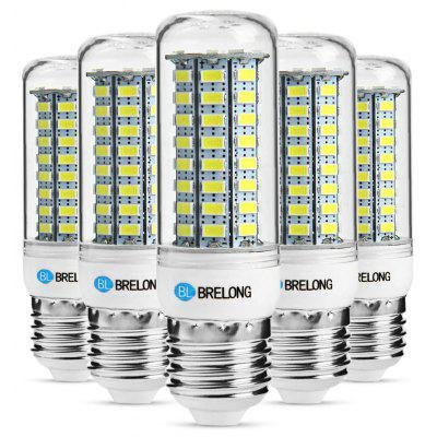 5 x BRELONG E27 12W 1200Lm SMD 5730 LED Corn Light Lamp