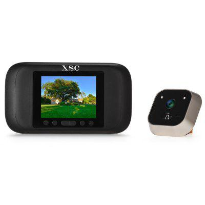 XSC 720P Smart Peephole Viewer Visual Doorbell