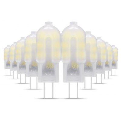 10 x G4 SMD 2835 2W 200Lm Frosted LED Capsule Bulb