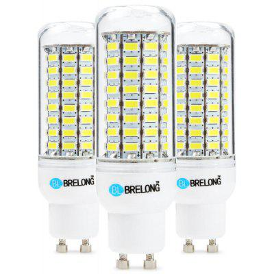3PCS BRELONG 89 x SMD5730 8 - 9W 1800LM GU10 LED Corn Bulb
