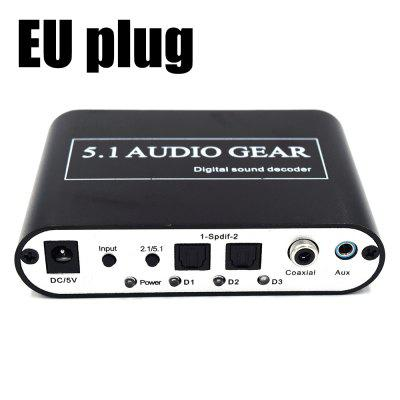 51A Analog 5.1 Digital Audio Decoder TV Converter