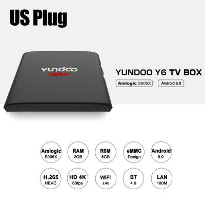 YUNDOO Y6 Android HD TV Box Amlogic S905X Quad Core