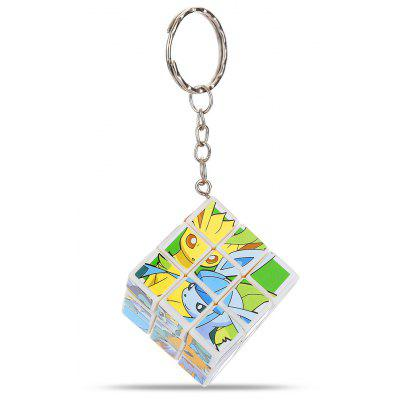 Animation Character Theme ABS Key Chain