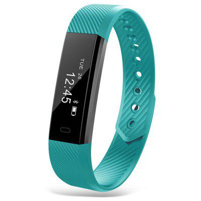 ID115 Bluetooth Smart Wristband – MARINE GREEN 1Feb