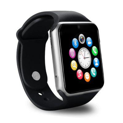 A1S Smartwatch PhoneSmart Watch Phone<br>A1S Smartwatch Phone<br><br>Additional Features: 2G, People, Notification, Calculator..., MP3, Calendar, Bluetooth, Alarm<br>Battery: 1 x 320mAh<br>Bluetooth: Yes<br>Bluetooth Version: V3.0<br>Camera type: Single camera<br>Cell Phone: 1<br>Compatible OS: Android, IOS<br>English Manual : 1<br>External Memory: TF card up to 32GB (not included)<br>Frequency: GSM850/900/1800/1900MHz<br>Front camera: 0.08MP<br>Functions: Remote Camera, Sleep monitoring, Sedentary reminder, Pedometer, Message<br>Languages: English, French, German, Spanish, Portuguese, Italian, Dutch, Russian, Polish, Turkish, Greek<br>Micro USB Slot: Yes<br>Music format: MP3<br>Network type: GSM<br>Package size: 10.00 x 10.00 x 8.00 cm / 3.94 x 3.94 x 3.15 inches<br>Package weight: 0.2200 kg<br>Picture format: JPEG, PNG<br>Product size: 4.18 x 4.96 x 1.30 cm / 1.65 x 1.95 x 0.51 inches<br>Product weight: 0.0650 kg<br>RAM: 32MB<br>ROM: 32MB<br>Screen resolution: 240 x 240<br>Screen size: 1.54 inch<br>Screen type: IPS<br>SIM Card Slot: Single SIM(Micro SIM slot)<br>Speaker: Supported<br>TF card slot: Yes<br>Type: Watch Phone<br>USB Cable: 1<br>Wireless Connectivity: Bluetooth, GSM