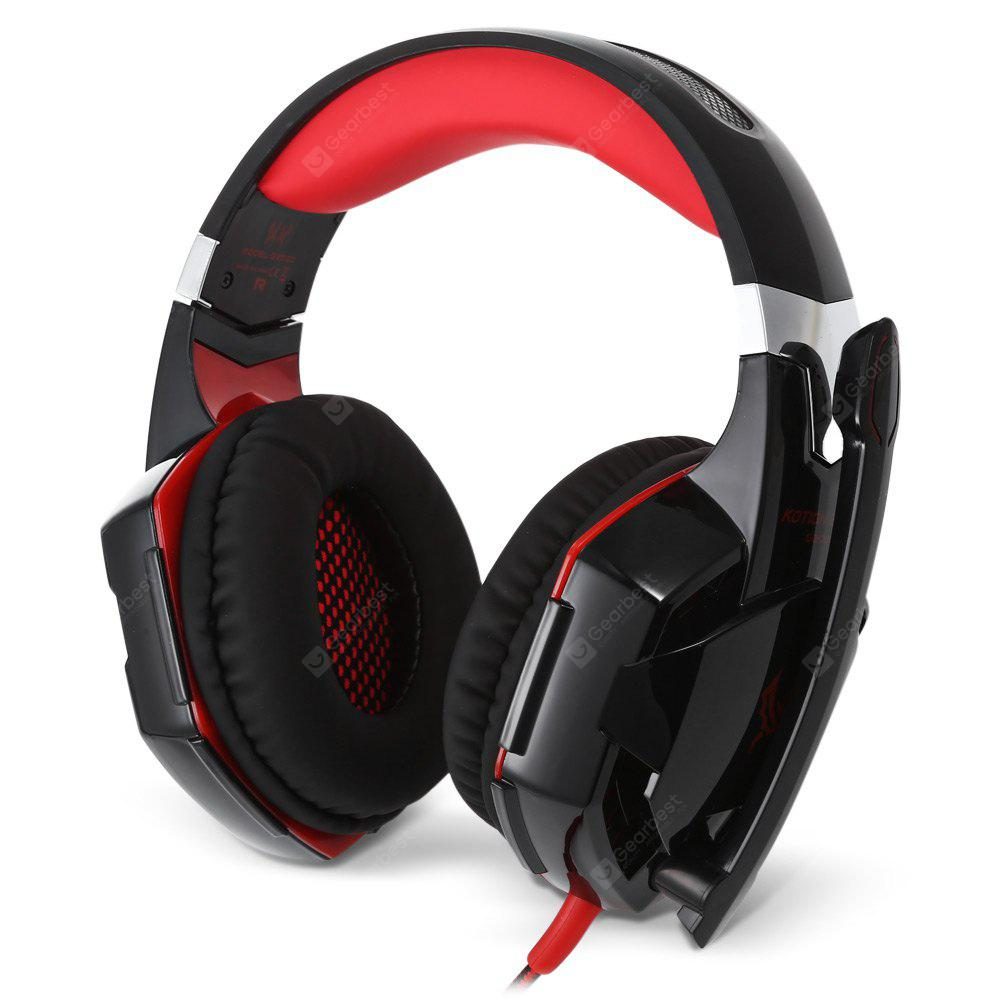 KOTION EACH G2000 Stereo Gaming Headset - RED