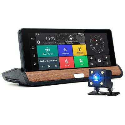 JUNSUN E26 1080P Car DVR with Reversing Camera