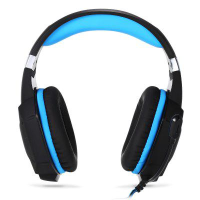 KOTION EACH G1100 USB Gaming HeadsetEarbud Headphones<br>KOTION EACH G1100 USB Gaming Headset<br><br>Application: Computer<br>Brand: KOTION EACH<br>Cable Length (m): 2.1m<br>Compatible with: Computer<br>Connecting interface: Micro USB, 3.5mm<br>Connectivity: Wired<br>Driver unit: 50mm<br>Frequency response: 20-20000Hz<br>Function: Voice control, Vibration, Microphone<br>Impedance: 16ohms<br>Language: No<br>Material: ABS<br>Model: G1100<br>Package Contents: 1 x KOTION EACH G1100 Gaming Headset, 1 x Multilanguage User Manual<br>Package size (L x W x H): 21.00 x 12.50 x 23.50 cm / 8.27 x 4.92 x 9.25 inches<br>Package weight: 0.5530 kg<br>Plug Type: Micro USB, 3.5mm<br>Product size (L x W x H): 20.00 x 20.00 x 10.00 cm / 7.87 x 7.87 x 3.94 inches<br>Product weight: 0.3930 kg<br>Sensitivity: 105±3 dB<br>Wearing type: Headband
