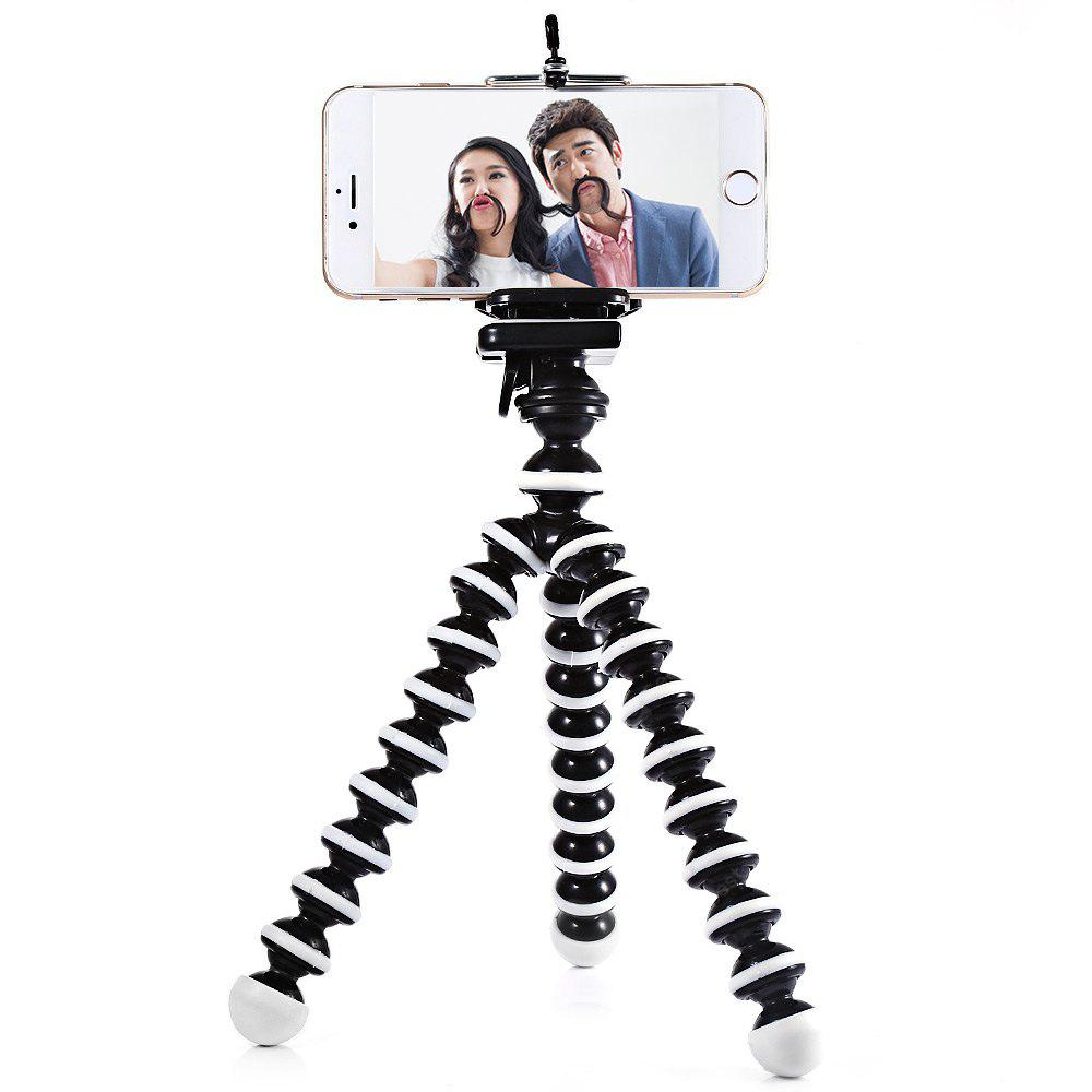 2 in 1 Adjustable Mobile Phone Octopus Style Tripod with Clip