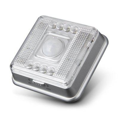 L0803 PIR Motion Activated Auto Keyhole Lamp 8 LEDs Light