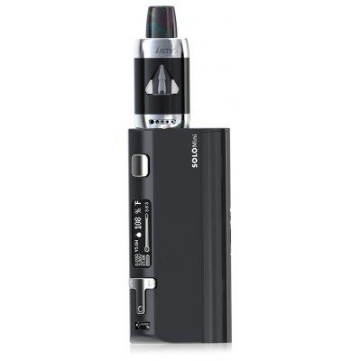 Original IJOY SOLO ELF Box Mod Kit 80W with 300 - 600F / 150 - 315C / Supporting 1pc 18650 Battery / 2ml Clearomizer for E Cigarette