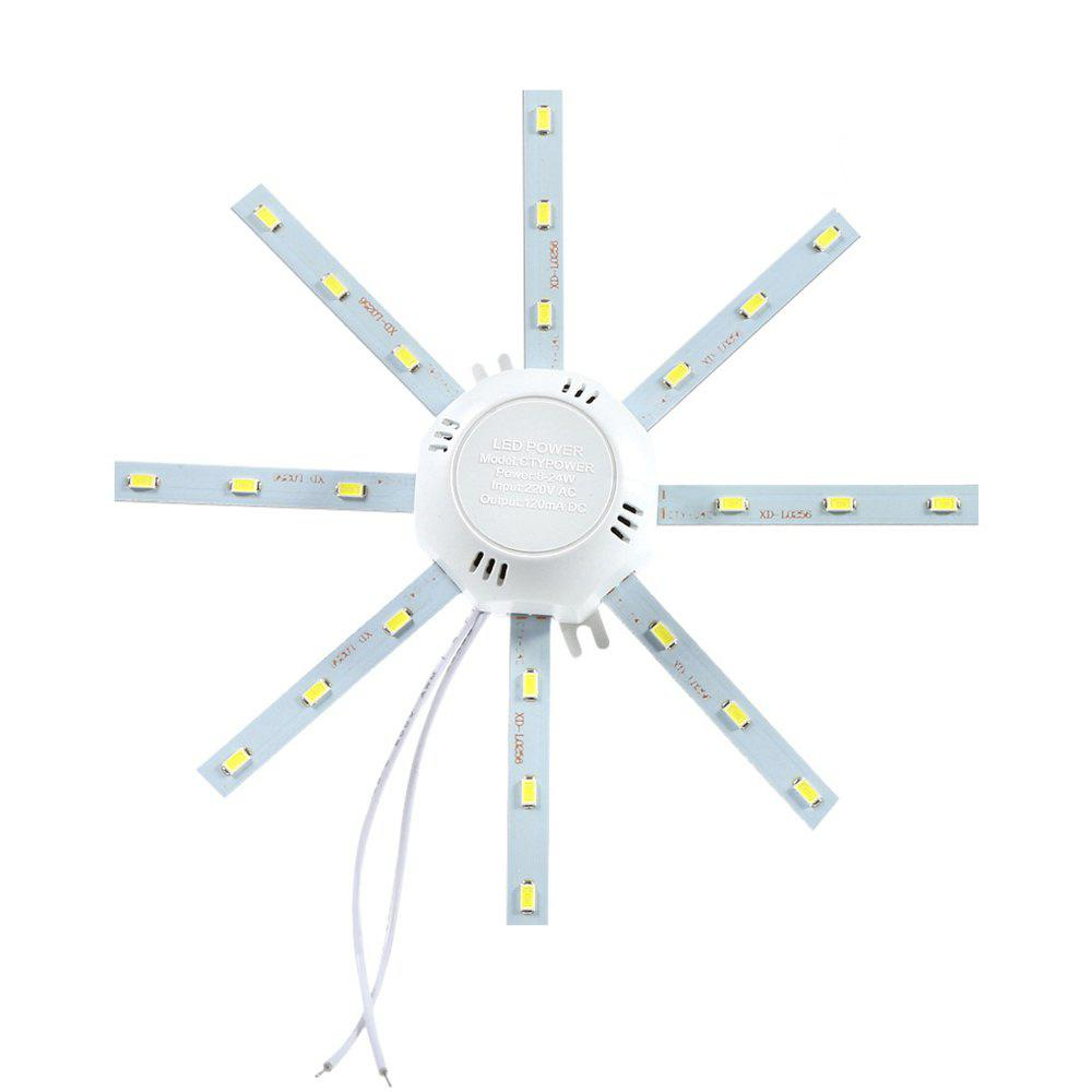 12W 960Lm SMD 5730 Octagonal LED Ceiling Lamp Fixture