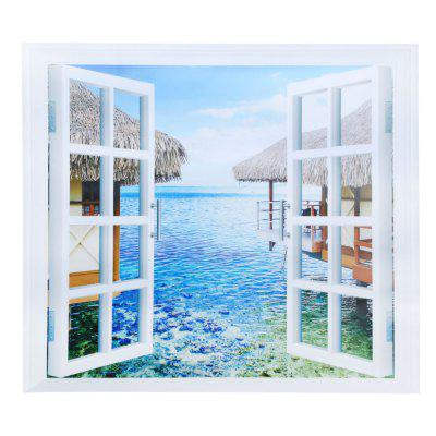 CH002 3D False Window Removable Wall Sticker