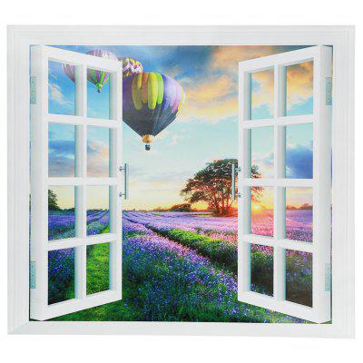 CH010 3D False Window Wallpaper Waterproof PVC Sticker