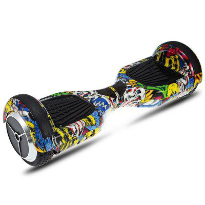 H6 6.5 inch 2-wheel Bluetooth Music Smart Self Balancing Scooter