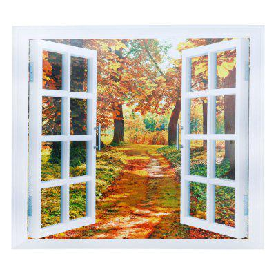 CH004 3D False Window Removable Wall Sticker