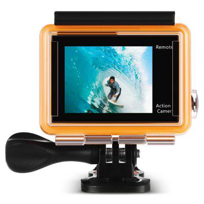H8R 170 Degree Wide Angle 4K Ultra HD WiFi Action CameraAction Cameras<br>H8R 170 Degree Wide Angle 4K Ultra HD WiFi Action Camera<br><br>Aerial Photography: No<br>Anti-shake: No<br>Audio System: Built-in microphone/speaker (AAC)<br>Auto Focusing: No<br>Battery Type: Removable<br>Camera Pixel: 14MP<br>Camera Timer: No<br>Capacity: 1050mAh<br>Charge way: USB charge by PC<br>Chipset: Sunplus 6350<br>Chipset Name: Sunplus<br>Class Rating Requirements: Class 10 or Above<br>Decode Format: H.264<br>Exposure Compensation: +0.3,+0.7,+1,+1.3,+1.7,+2,-0.3,-0.7,-1,-1.3,-1.7,-2,0<br>Features: Wireless<br>Frequency: 50Hz,60Hz,Auto<br>Function: Loop-cycle Recording<br>HDMI Output: Yes<br>Image Format: JPG<br>Interface Type: Micro USB, TF Card Slot, Micro HDMI<br>Language: Czech,Deutsch,Dutch,English,French,Italian,Japanese,Korean,Polski,Portuguese,Russian,Spanish,Thai,Traditional Chinese,Turkish<br>Loop-cycle Recording: Yes<br>Loop-cycle Recording Time: 10min,OFF<br>Max External Card Supported: TF 32G (not included)<br>Microphone: Built-in<br>Model: H8R<br>Night vision: No<br>Package Contents: 1 x H8R 4K Action Camera + Waterproof Housing Case + Base + Long Screw, 1 x 1050mAh Battery, 1 x 2.4G Remote Controller, 1 x Wrist Strap for RC, 1 x Power Adapter (100 - 240V), 1 x USB Cable, 1 x Fram<br>Package size (L x W x H): 28.50 x 18.00 x 8.00 cm / 11.22 x 7.09 x 3.15 inches<br>Package weight: 0.6180 kg<br>Product size (L x W x H): 5.80 x 4.00 x 2.00 cm / 2.28 x 1.57 x 0.79 inches<br>Product weight: 0.0690 kg<br>Screen resolution: 320x240<br>Screen size: 2.0inch<br>Screen type: LCD<br>Time lapse: No<br>Time Stamp: Yes<br>Type: Sports Camera<br>USB Function: USB-Disk<br>Video format: MOV<br>Video Output: HDMI<br>Video Resolution: 1080P(30fps),1080P(60fps),2.7K (2704 x 1520),4K (3840 x 2160)<br>Video System: PAL<br>Water Resistant: 30m<br>Waterproof: Yes<br>Wide Angle: 170 degree wide angle<br>WIFI: Yes<br>WiFi Distance: 30m<br>WiFi Function: Image Transmission,Sync and Sharing Albums<br>Working Time: 1.5 hours at 1080P 30fps, 50min at 4K 30fps / 2.7K 30fps / 1080P 60fps