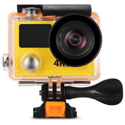 Buy YELLOW H8R 170 Degree Wide Angle 4K Ultra HD WiFi Action Camera for $54.70 in GearBest store