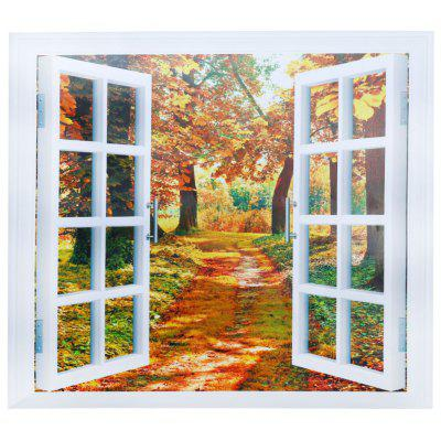 CH004 3D False Window Wallpaper Waterproof PVC Sticker