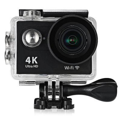 Buy BLACK H9R 170 Degree Wide Angle 4K Ultra HD WiFi Action Camera for $44.99 in GearBest store