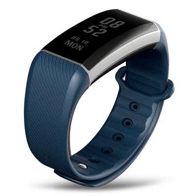 Zeblaze Zeband Plus Smart WristbandSmart Watches<br>Zeblaze Zeband Plus Smart Wristband<br><br>Alert type: Vibration<br>Available Color: Black,Deep Blue,Purplish Red<br>Band material: Plastic<br>Band size: 23.00 x 1.80 cm / 9.06 x 0.71 inches<br>Battery  Capacity: 90mAh<br>Bluetooth calling: Phone call reminder<br>Bluetooth Version: Bluetooth 4.0<br>Brand: Zeblaze<br>Case material: Aluminium<br>Charging Time: About 90mins<br>Compatability: Android 4.3 and iOS 8.0 or above<br>Compatible OS: Android, IOS<br>Dial size: 4.30 x 1.80 x 1.00 cm / 1.69 x 0.71 x 0.39 inches<br>Health tracker: Heart rate monitor,Pedometer,Sedentary reminder,Sleep monitor<br>IP rating: IP67<br>Language: Croatian,Czech,Danish,Dutch,English,French,German,Greek,Hebrew,Hungarian,Italian,Japanese,Korean,Norwegian,Persian,Polish,Portuguese,Romanian,Russian,Simplified Chinese,Slovak,Spanish,Swedish,Traditio<br>Messaging: Message reminder<br>Operating mode: Touch Screen<br>Other Function: Alarm<br>Package Contents: 1 x Zeblaze Zeband Plus Smart Wristband, 1 x USB Cable, 1 x English Manual<br>Package size (L x W x H): 11.50 x 8.50 x 6.50 cm / 4.53 x 3.35 x 2.56 inches<br>Package weight: 0.1150 kg<br>People: Female table,Male table<br>Product size (L x W x H): 23.00 x 1.80 x 1.00 cm / 9.06 x 0.71 x 0.39 inches<br>Product weight: 0.0300 kg<br>Screen: OLED<br>Screen resolution: 160 x 68<br>Screen size: 0.94 inch<br>Shape of the dial: Rectangle<br>Standby time: 15 days<br>Type of battery: Li-polymer<br>Waterproof: Yes