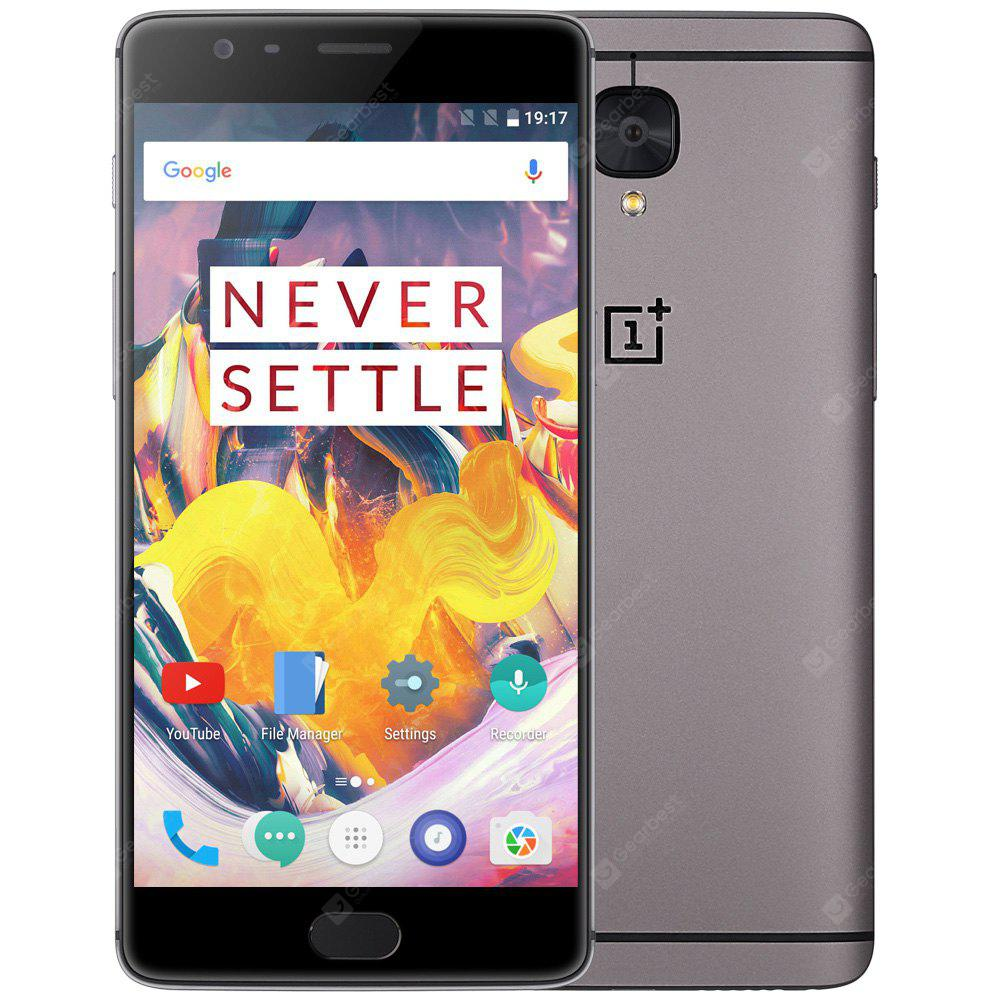 OnePlus 3T 5.5 inch OxygenOS 4G Phablet Snapdragon 821 Quad Core 2.35GHz 6GB RAM 64GB ROM 16.0MP Rear and Front Camera Corning Gorilla Glass 4 Optic AMOLED Screen
