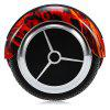 H6 6.5 inch 2-wheel Bluetooth Music Smart Self Balancing Scooter - RED WITH BLACK