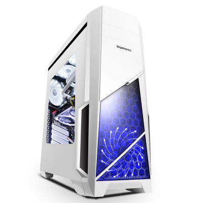 Segotep Spring Mid Tower Gaming Computer Case Support ATX M-ATX ITX Motherboard