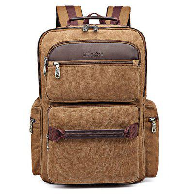 Buy KHAKI KAUKKO K1024 Backpack for $30.91 in GearBest store