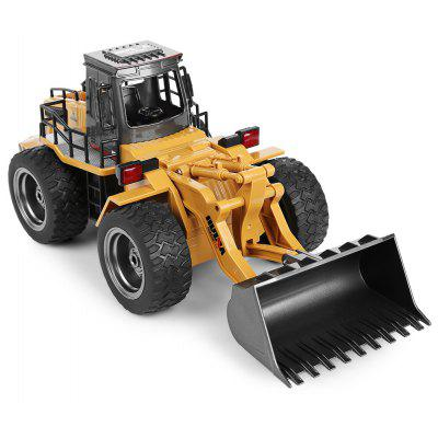 Buy MULTI HUINA 1520 1:18 2.4G 6CH RC Simulation Alloy Truck Construction Toy for $29.99 in GearBest store